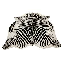 attractive zebra rug for floor coverings ideas interior design with zebra printed cowhide rug for