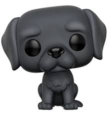 black labrador retriever.  Retriever Funko POP Pets Labrador Retriever Action Figure Black And 0