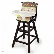 generic infant classic fort wood high chair turns any chair into a high chair