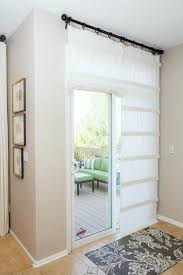 sliding glass doors covering curtain ideas for