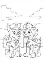 Kleurplaat Paw Patrol Paw Patrol Party Paw Patrol Coloring Paw