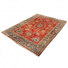 hand knotted persian rug with innovative design