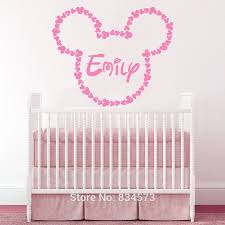 diy baby name wall decor name wall art roselawnluth on embroidery hoop nursery ideas diy mobil