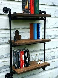 large size of pipe shelves ck wall iron plans supple industrial black three tier shelf pollard industrial chic concrete and pipe shelves