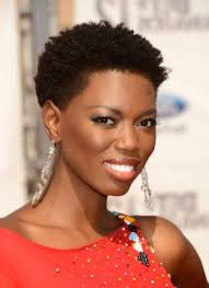 trendy black women short afro hairstyles