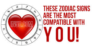 Zodiac Dating Compatibility Chart These Zodiac Signs Are The Most Compatible With You In5d