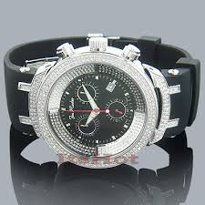 mens diamond jojo watch 2 20 ct joe rodeo master