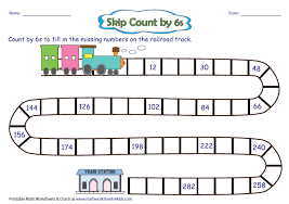Counting By 25s Chart Skip Counting Charts