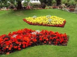 File:Flowerbeds, Botanic Gardens, Churchtown 1.JPG