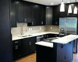 black cabinets with white countertops post dark grey cabinets white countertops