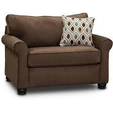 chocolate brown twin sofa bed jojo