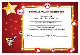 softball award certificate softball certificate templates free tirevi fontanacountryinn com