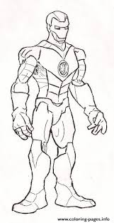 Small Picture Standing Still Iron Man coloring page1f83 Coloring pages Printable