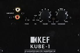kef kube 1. kef t100 review dials kef kube 1 c