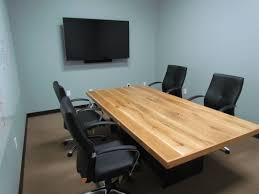 office conference table design. White Oak Conference Table With Steel Base Office Design O