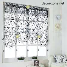 Kitchen Curtains Ideas At Best Of Curtain Mikaku Magnificent Kitchen Curtains Ideas