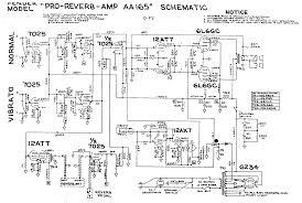 fender amp schematics schematic · fender pro reverb aa165