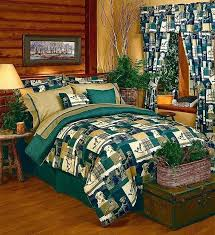 outdoor themed bedding sets dogs ducks comforter set lodge bedding cabin themed bed with regard to