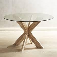 simon java x dining table base  pier  imports