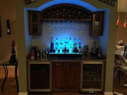 wet bar glass rack
