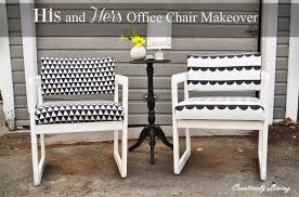 His and Hers Office Chair Makeover for the Fab Furniture Flippin ...