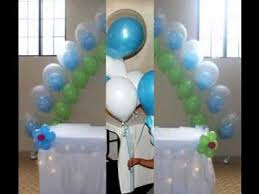 Baby Bottle Balloon Decoration Simple Baby shower balloon decor ideas YouTube 57