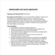 Sales Associate Resume Example Sample Sales Associate Resume 8 Free Documents In Pdf Doc