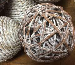 Decorative Woven Balls Stunning Decorative Wicker Woven Balls