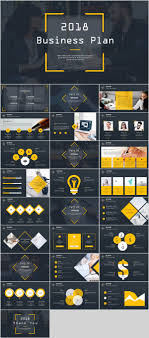 Pptx Themes 26 Company Business Year Report Powerpoint Template On