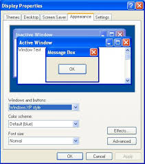 change text size changing font size on windows xp top windows tutorials