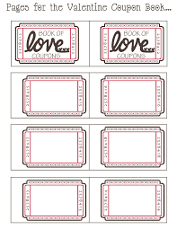 Coupon Templates Free Coupon Book Ideas For Husband Blank Love Coupon Templates Printable 6