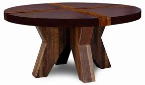 Rustic Contemporary Modern Wood Dining Table Sustainable