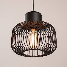 awesome cage pendant light modern cage pendant lights at 20 off