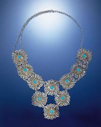 circa 1500 among the oldest pieces in the collection this exquisitely wrought filigree necklace ilrates le vian s ageless master craftsmanship