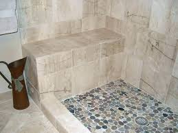 pebble tile shower floor problems river stone shower floor pebble bathroom traditional with none tile rock