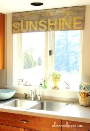 sunroom decorating ideas window treatments. Kitchen Window Treatments Pictures This Old Barn Wood Was Stenciled With The Lyrics You Are My Sunroom Decorating Ideas
