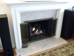 tiled hearth fireplace upgraded to new wall custom painted mantel new stone tile hearth and surround tiled hearth fireplace