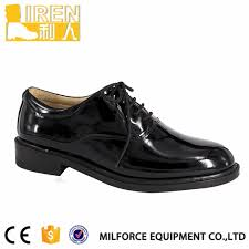 china black shiny leather safety shoes for security company guards china shiny shoes black shiny shoes
