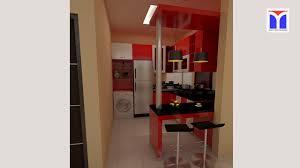 sketchup project kitchenset dan mini bar