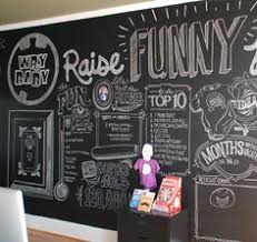 K Wry Baby Chalk Wall Image