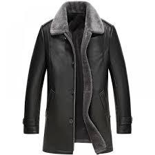 Designer Fur Jacket Men Genuine Leather Men Designer Jacket In 2019 Leather Jacket
