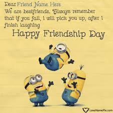 Write Name On Funny Friendship Day Quotes Picture Impressive Funny Quotes About Friendship And Love