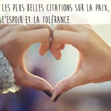 Les Plus Belles Citations Sur La Paix Lespoir Et La Tolérance
