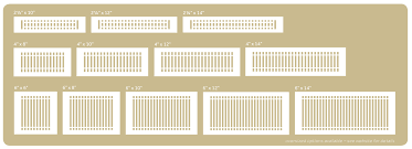 Decorative Grates Registers Register Sizes And Installation
