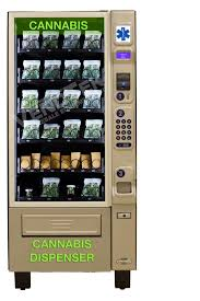 Cannabis Vending Machine Classy Cannabis Vending Merchandiser