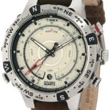 timex men s t2n721 intelligent quartz adventure series tide temp timex men s t2n721 intelligent quartz adventure series tide temp compass brown leather strap watch