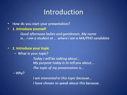 giving an oral presentation ppt video online introduction how do you start your presentation 1 introduce yourself