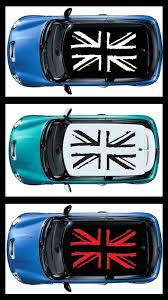 Details about <b>1PC</b> ROOF Grunge British Flag Decals (4 pcs) <b>for Mini</b> ...