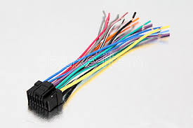 car stereo radio wire harness 16pin for alpine cda cde iva $16 48 Car Stereo Wiring Colors alpine car radio stereo 16 pin wire wiring harness 2