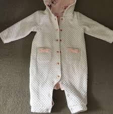 Designer Baby Pram Suit Baby Girl Ted Baker Pramsuit 3 6 Months So Depop
